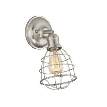 Savoy House Scout 1-Light Adjustable Sconce in Satin Nickel