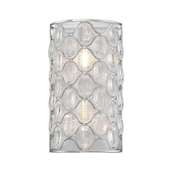 Savoy House Opus 2-Light Wall Sconce in Polished Chrome