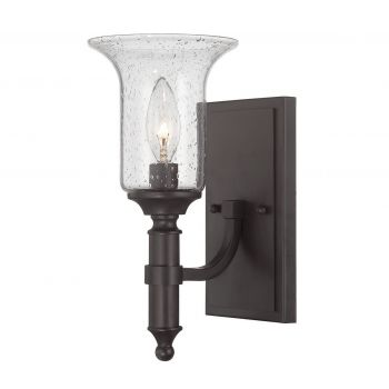 Savoy House Trudy Wall Sconce in English Bronze