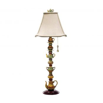 """Dimond Tea Service Candlestick 35"""" Teacup Table Lamp in Burwell"""