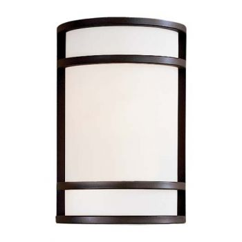 Minka Lavery Bay View 2-Light Wall Sconce in Bronze
