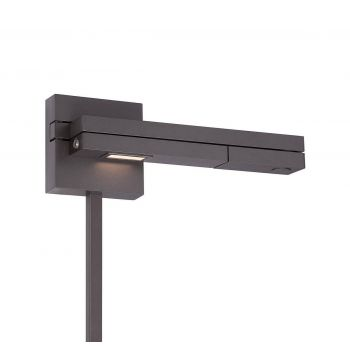 WAC Flip Collection LED Right Swing Arm in Bronze