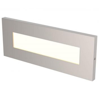 LBL Lighting Vitra LED Outdoor Brick Light in Satin Nickel