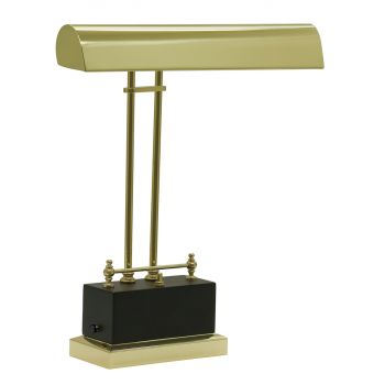 House of Troy Battery Operated LED Piano Lamp Black/Brass