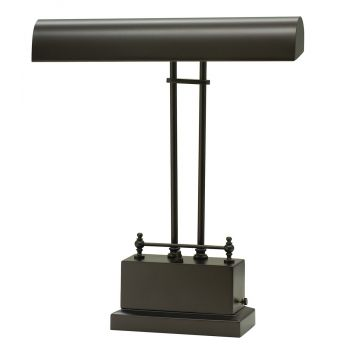 House of Troy Battery Operated LED Piano Lamp Mahogany Bronze