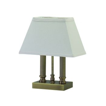 House of Troy Coach Table Lamp in Antique Brass Finish