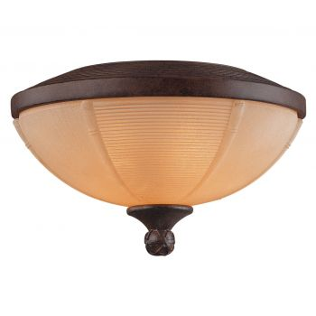 Savoy House Danville 3-Light Fan-Light Kit in Dark Bamboo