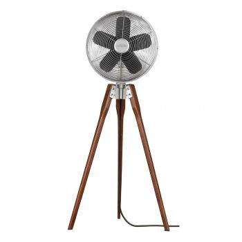 Fanimation Arden Portable Fan in Satin Nickel