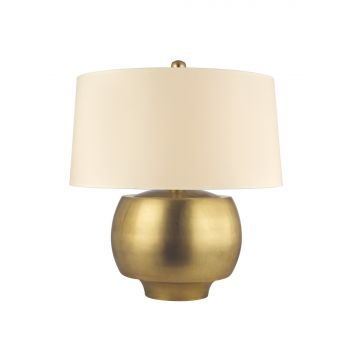 Hudson Valley Holden Table Lamp in Aged Brass