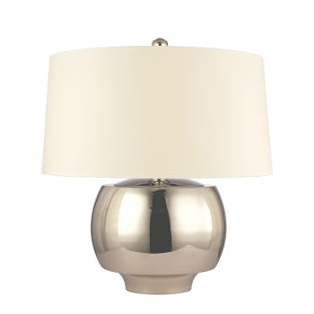 Hudson Valley Holden Nickel Table Lamp in Nickel