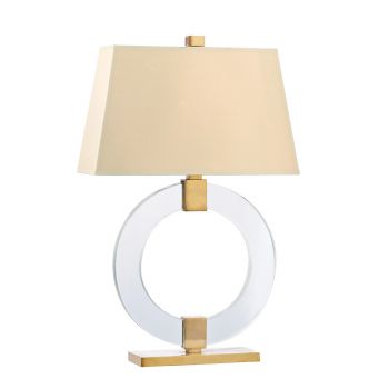 Hudson Valley Roslyn Table Lamp in Aged Brass