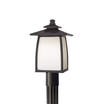 Feiss Wright House Oil Rubbed Bronze Outdoor Lantern Post Light