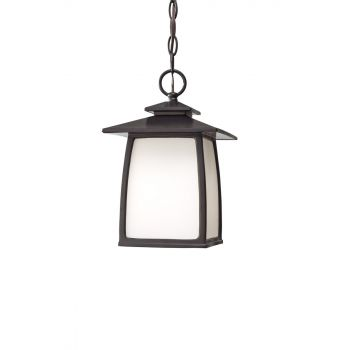 Feiss Wright House Oil Rubbed Bronze Outdoor Hanging Lantern
