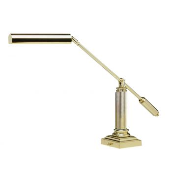 House of Troy Grand Piano Desk Lamp in Brass Finish