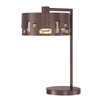 George Kovacs Bling Bang Table Lamp in Chocolate Chrome
