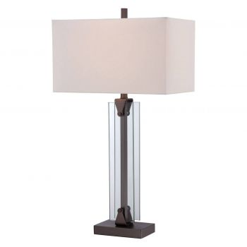 George Kovacs Portables Table Lamp in Harvard Court Bronze