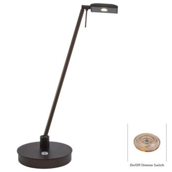 George Kovacs LED Desk Lamp in Copper