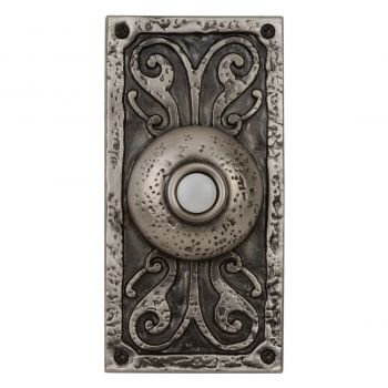 Craftmade Teiber Lighted Push Button Door Bell in Antique Pewter