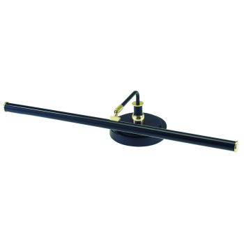 House of Troy LED Piano Lamp Black with Brass Accents