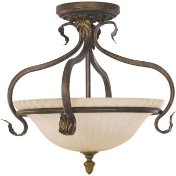 Feiss Sonoma Valley Collection Semi-Flush Mount