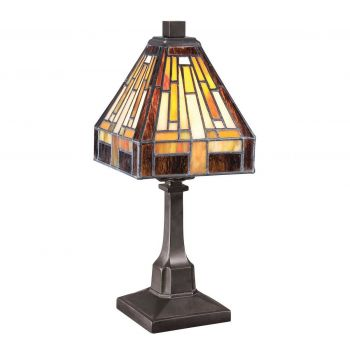 Quoizel Stephen 4-Pack Table Lamp in Vintage Bronze Finish