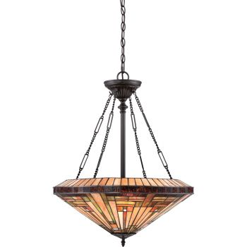 Quoizel Stephen 4-Light Pendant in Vintage Bronze