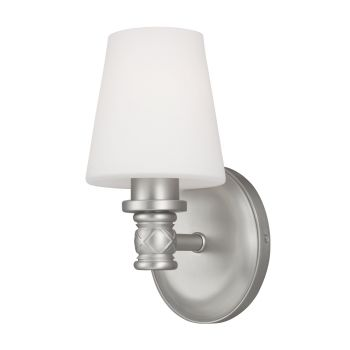 Feiss Xavierre 1-Light Wall Sconce in Satin Nickel