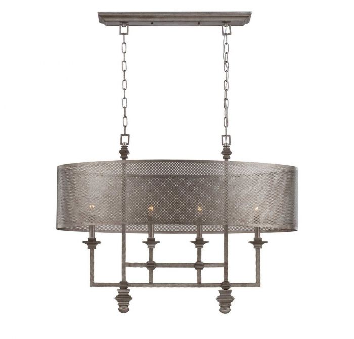 hemispheres polished chandelier nickel lighting chandeliers inch product photo elk light ceiling
