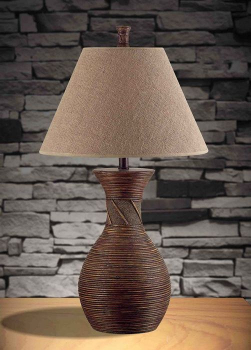 Lovely Kenroy Home Santiago Table Lamp In Natural Reed Finish   Table Lamps   Lamps