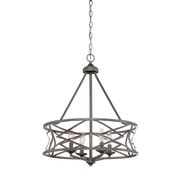 Millennium lighting lakewood 4 light chandelier in antique silver millennium lighting lakewood 4 light chandelier in antique silver chandeliers mozeypictures Image collections