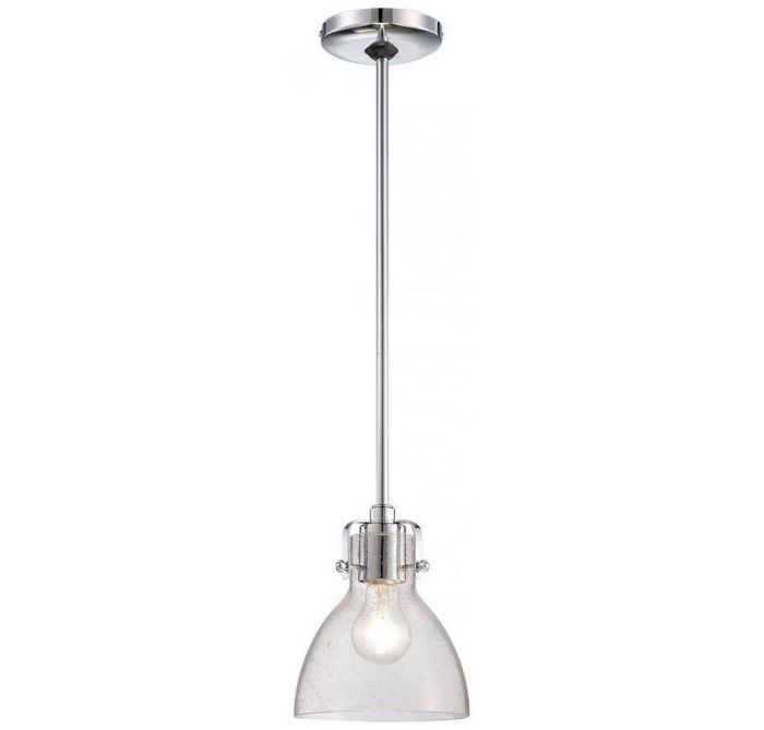 Minka lavery lavery seeded glass 1 light mini pendant in chrome minka lavery lavery seeded glass 1 light mini pendant in chrome mini pendants pendant lights ceiling lights aloadofball Gallery
