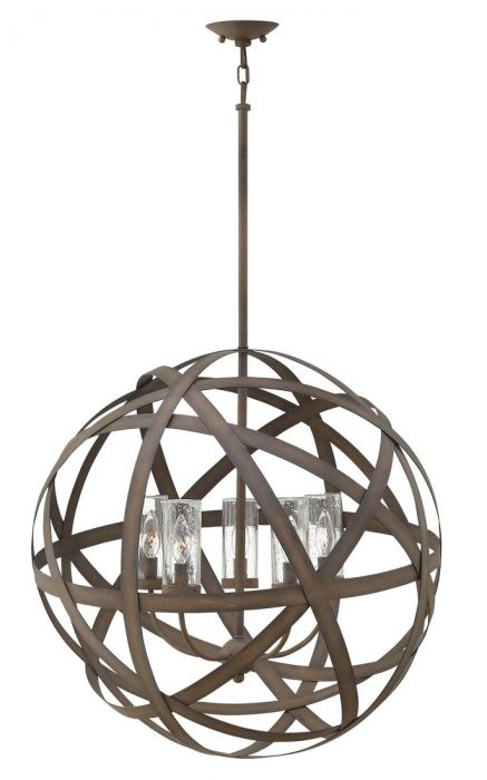 Hinkley Carson 5-light outdoor chandelier - LightsOnline.com