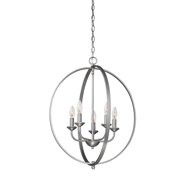 Millennium lighting 3000 series 5 light pendant in brushed pewter millennium lighting 3000 series 5 light pendant in brushed pewter pendant lights ceiling lights aloadofball Gallery