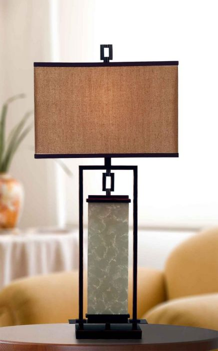 Kenroy Home Plateau Table Lamp In Oil Rubbed Bronze Table Lamps