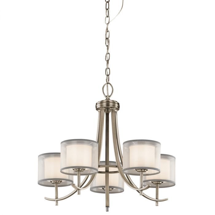 Kichler tallie 24 5 light chandelier in antique pewter skip to the beginning of the images gallery details kichler tallie 24 5 light chandelier aloadofball Choice Image