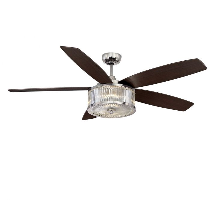 """savoy house phoebe 56"""" ceiling fan in polished nickel - indoor Buy Ceiling Fans with Lights Online"""