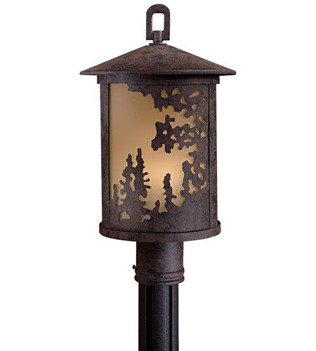 The great outdoors sunset ranch 1 light post mount in bronze the great outdoors sunset ranch 1 light post mount in bronze outdoor post lights outdoor lights mozeypictures Choice Image
