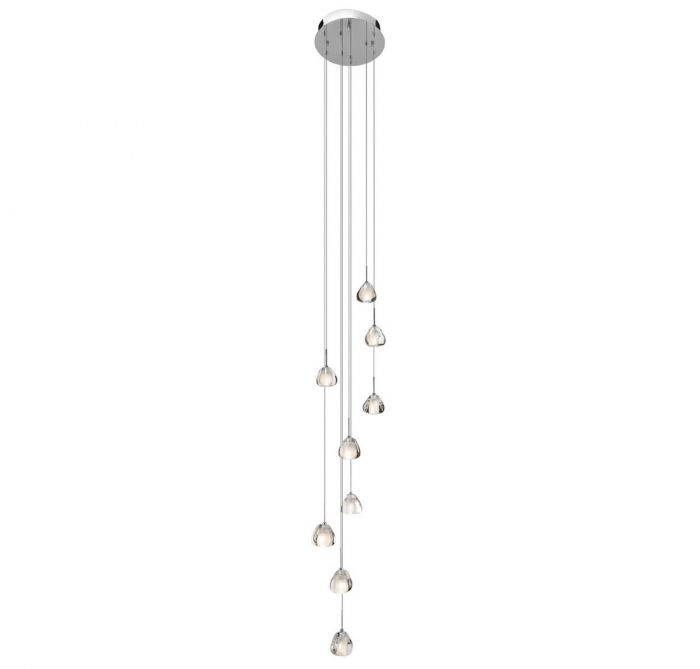 Elan eisa 9 light spiral pendant in chrome pendant lights elan eisa 9 light spiral pendant in chrome pendant lights ceiling lights aloadofball Choice Image