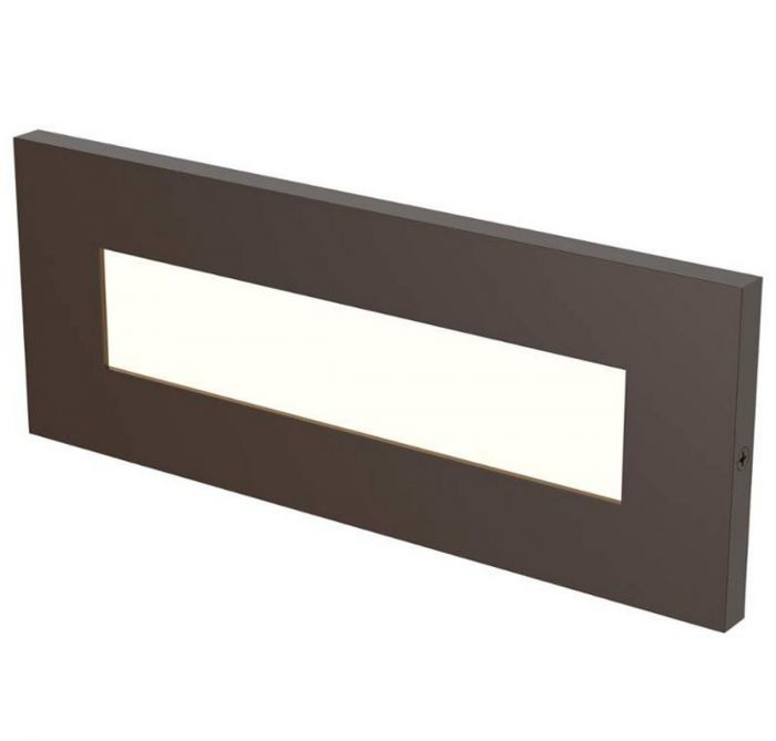 Lbl lighting vitra led outdoor brick light in antique bronze