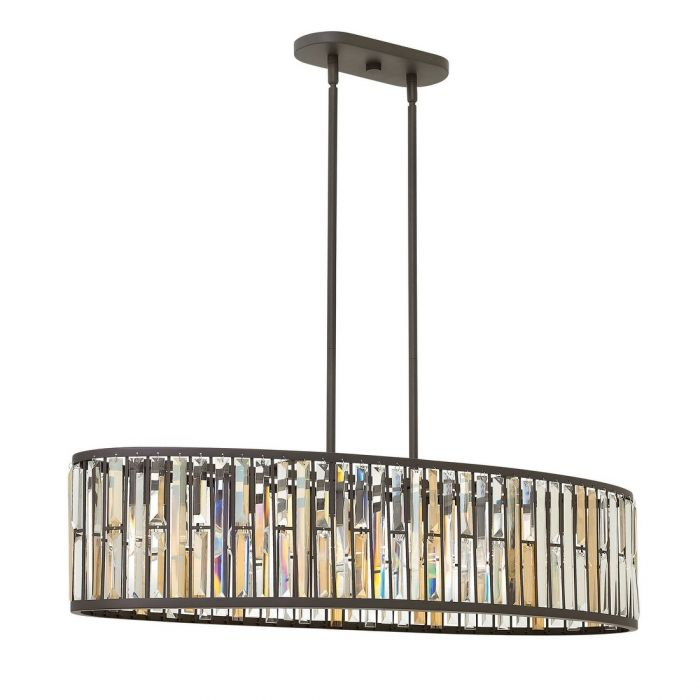 brushed chandeliers inch island undefined kailey nickel chandelier light linear kichler