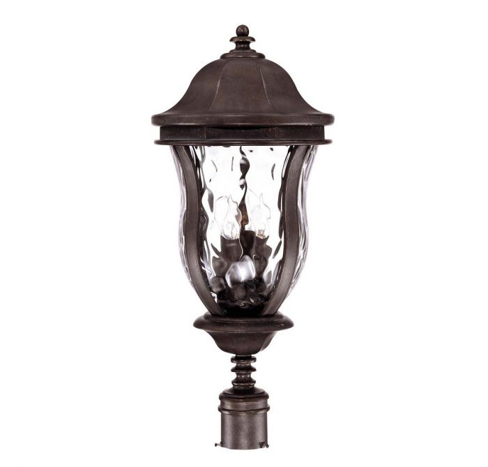 Savoy house monticello 4 light post lantern in walnut patina savoy house monticello 4 light post lantern in walnut patina outdoor post lights outdoor lights aloadofball Images
