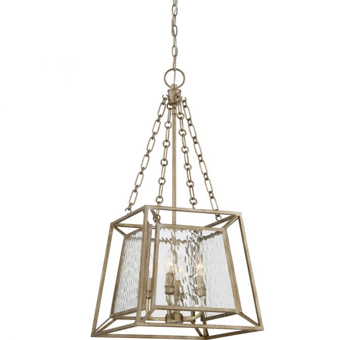 Quoizel lakeside 4 light cage chandelier in vintage gold quoizel lakeside 4 light cage chandelier in vintage gold transitional chandeliers chandeliers aloadofball Choice Image