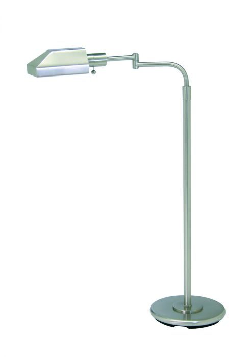 House of troy floor lamp in satin nickel finish floor lamps lamps aloadofball Image collections