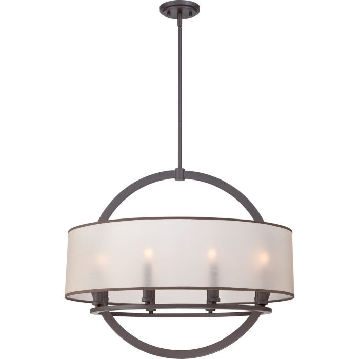 Quoizel portland 8 light drum pendant in western bronze drum quoizel portland 8 light drum pendant in western bronze drum pendants pendant lights ceiling lights aloadofball Image collections