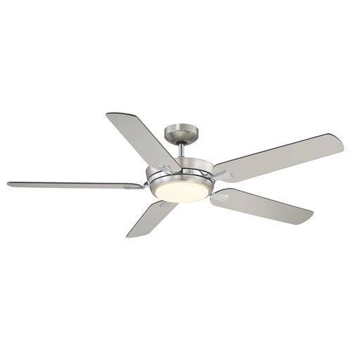 Savoy house montrose 54 5 blade ceiling fan in satin nickel skip to the beginning of the images gallery details the savoy house montrose ceiling fan aloadofball Gallery