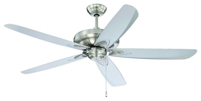 Craftmade 56 zena ceiling fan in stainless steel ceiling fans mozeypictures Images