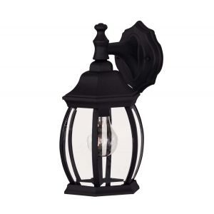 "Savoy House Exterior Collections 14"" Wall Lantern - Black"