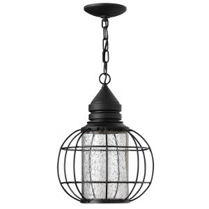 Hinkley New Castle Outdoor Hanging Lantern in Black Finish