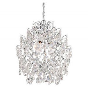 Minka Lavery Mini Chandeliers 3-Light Chandelier in Chrome