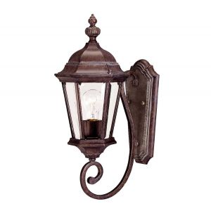 "Savoy House Wakefield 20"" Outdoor Wall Lantern in Walnut Patina"